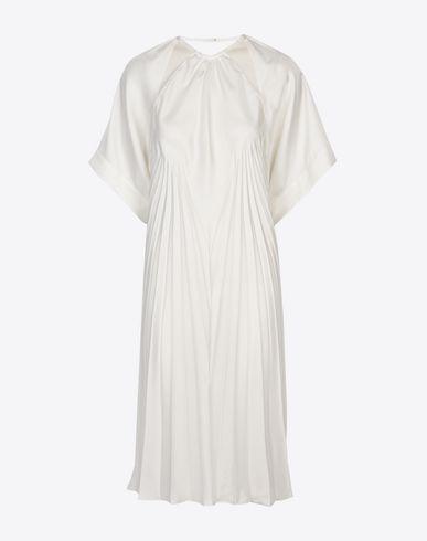 MAISON MARGIELA Long pleated dress Short dress D f