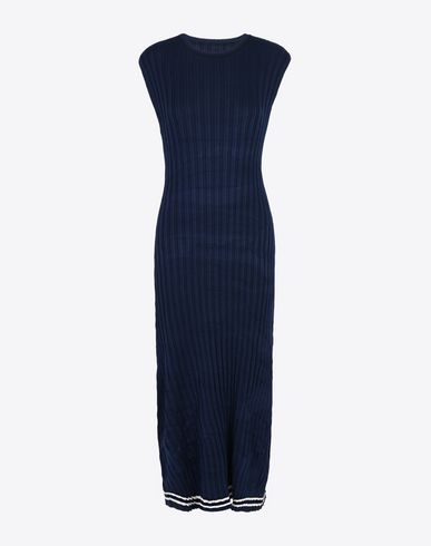 MAISON MARGIELA 3/4 length dress Woman Rib knit sweater dress f