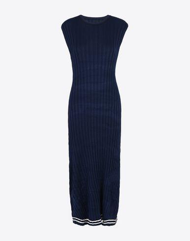 MAISON MARGIELA Robe mi-longue Femme Robe-pull en tricot à côtes f