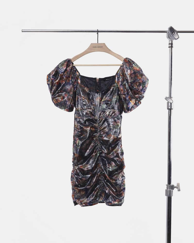 OXALIS Hawaiian dress ISABEL MARANT