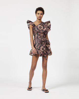 MALVERN ラッフル ドレス