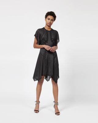 GABE embroidered dress