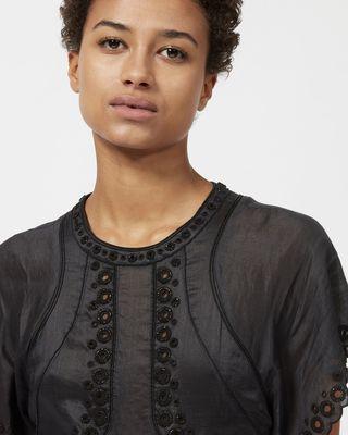 ISABEL MARANT SHORT DRESS Woman GABE embroidered dress r