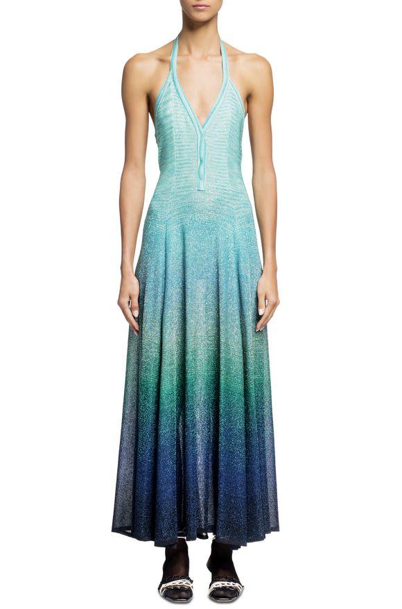 MISSONI Long dress Green Woman