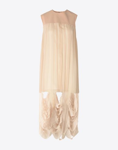MAISON MARGIELA 3/4 length dress Woman Cut-out shift dress f