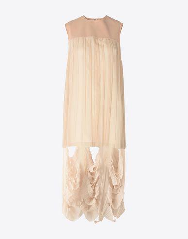 MAISON MARGIELA Cut-out shift dress 3/4 length dress D f