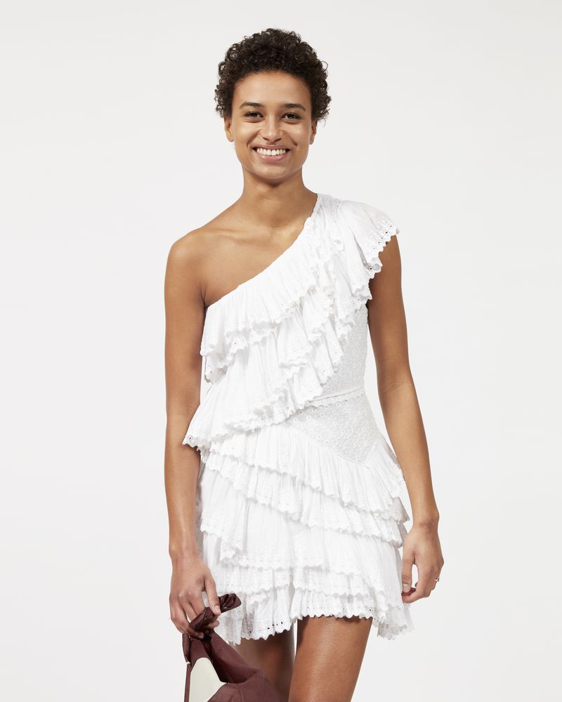 ZELLER asymmetric ruffle dress  ISABEL MARANT