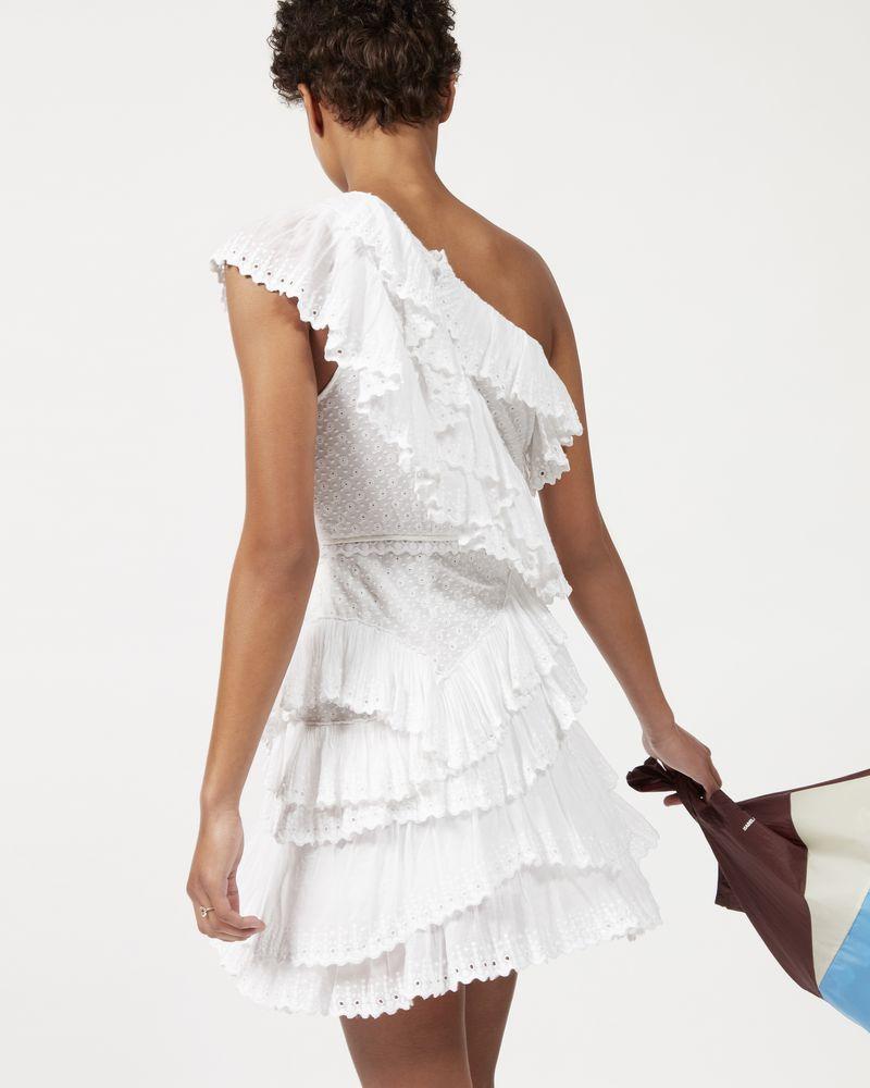 ZELLER asymmetric ruffle dress  ISABEL MARANT