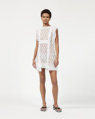 KUNST broderie anglaise dress