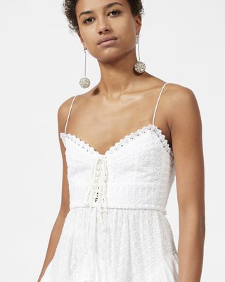 ISABEL MARANT SHORT DRESS Woman ZOWIE dress with straps  r