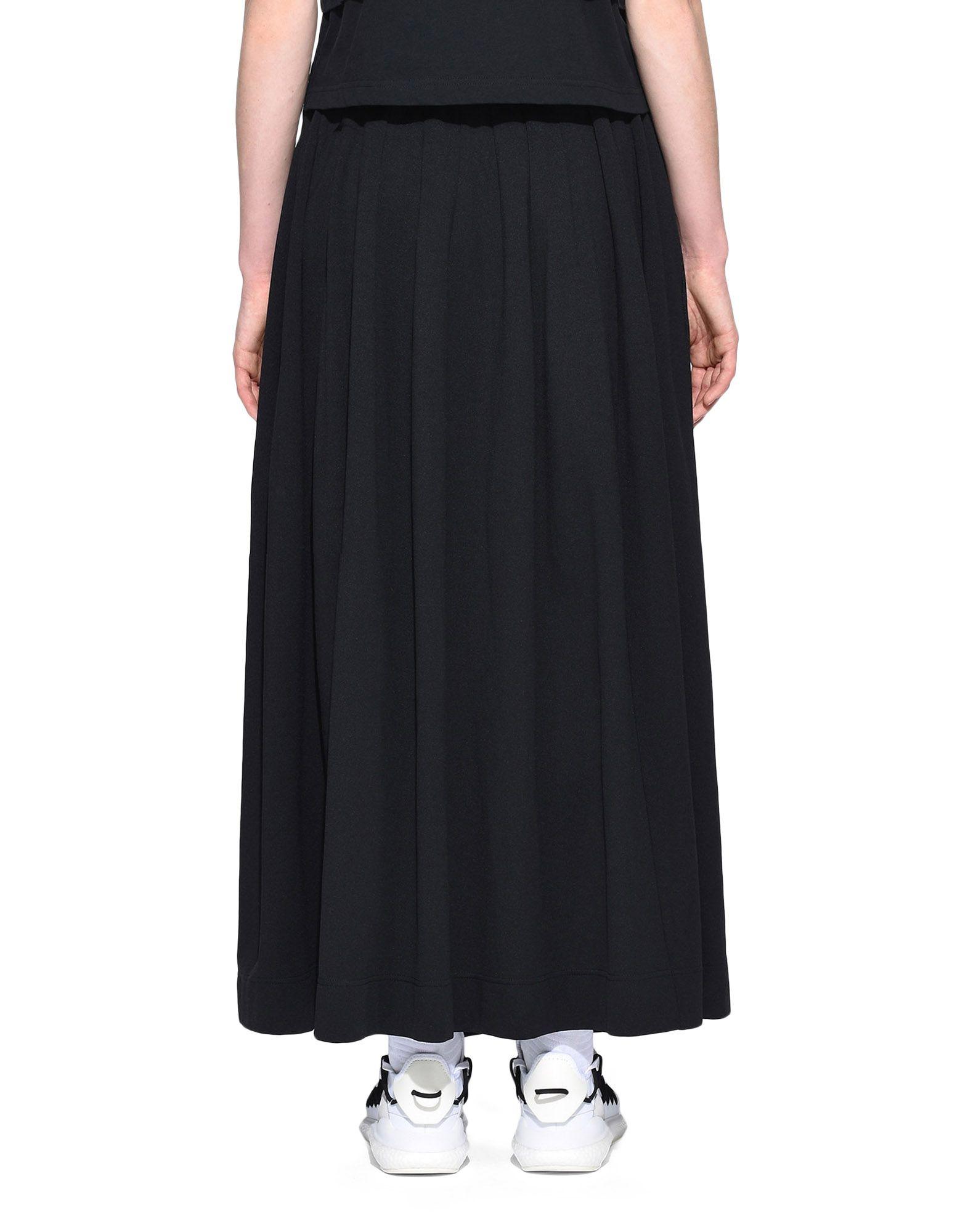 Y-3 Y-3 3-Stripes Selvedge Matte Track Skirt Юбка до колена Для Женщин d