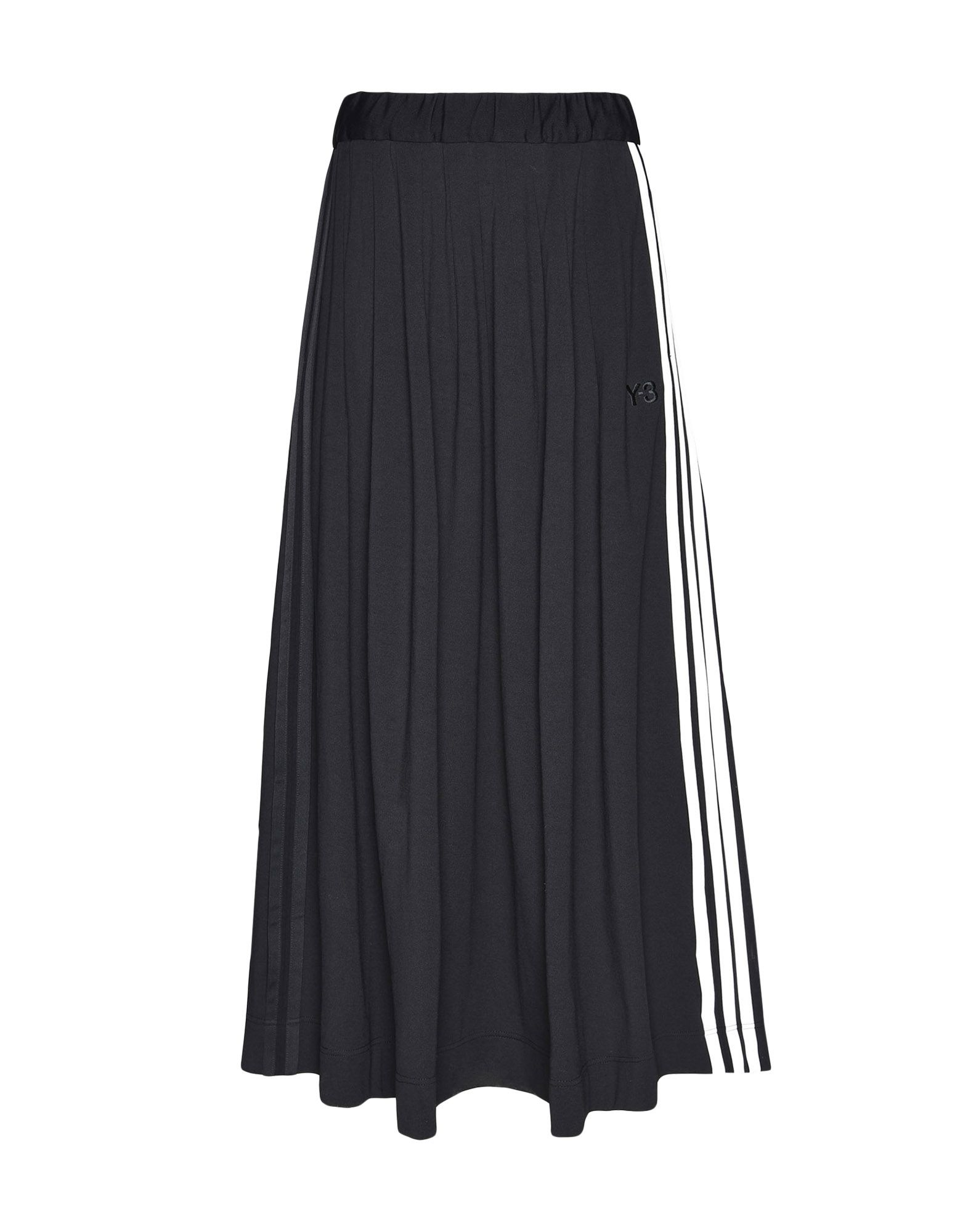Y-3 Y-3 3-Stripes Selvedge Matte Track Skirt Юбка до колена Для Женщин f