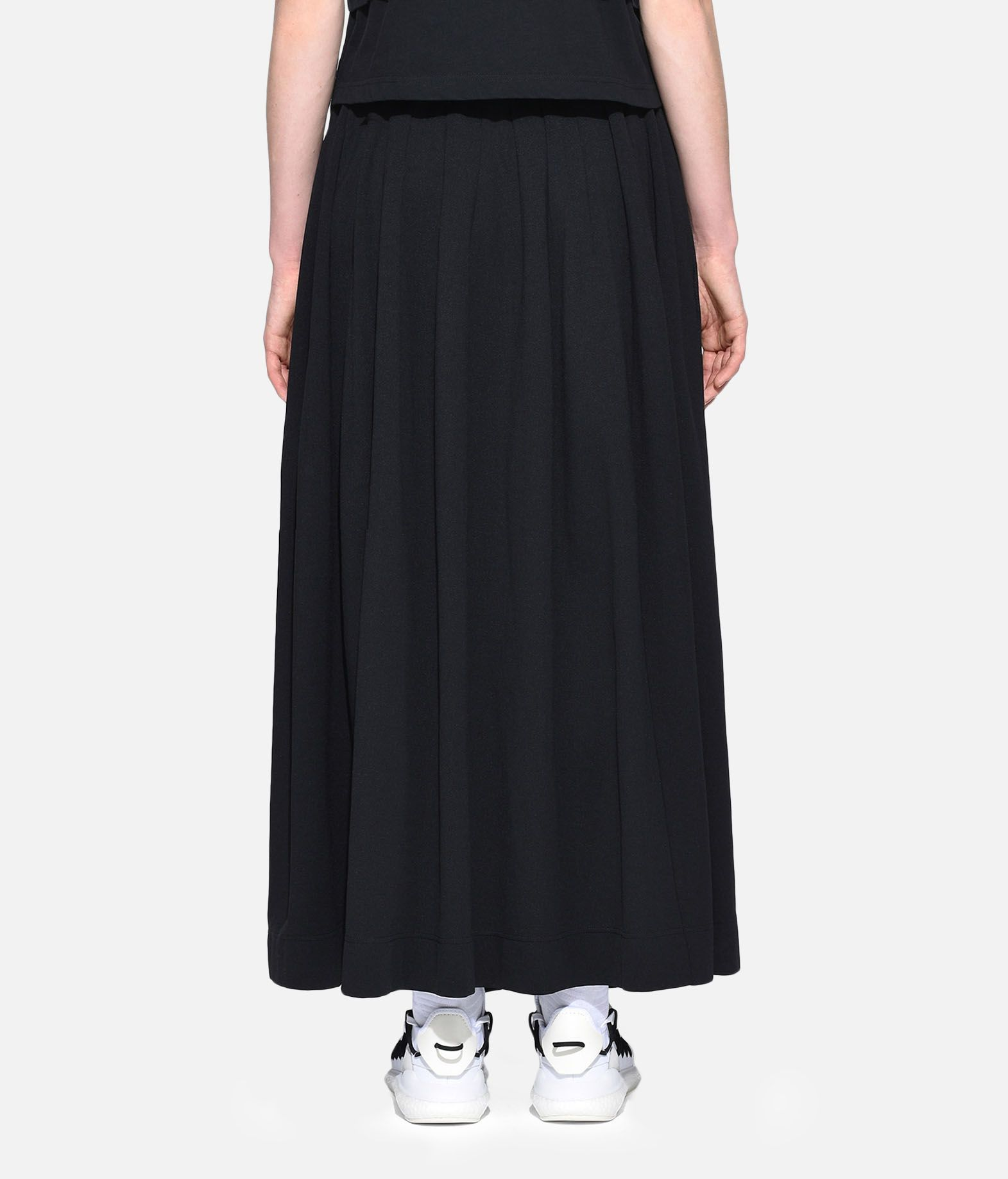 Y-3 Y-3 3-Stripes Selvedge Matte Track Skirt Knee length skirt Woman d