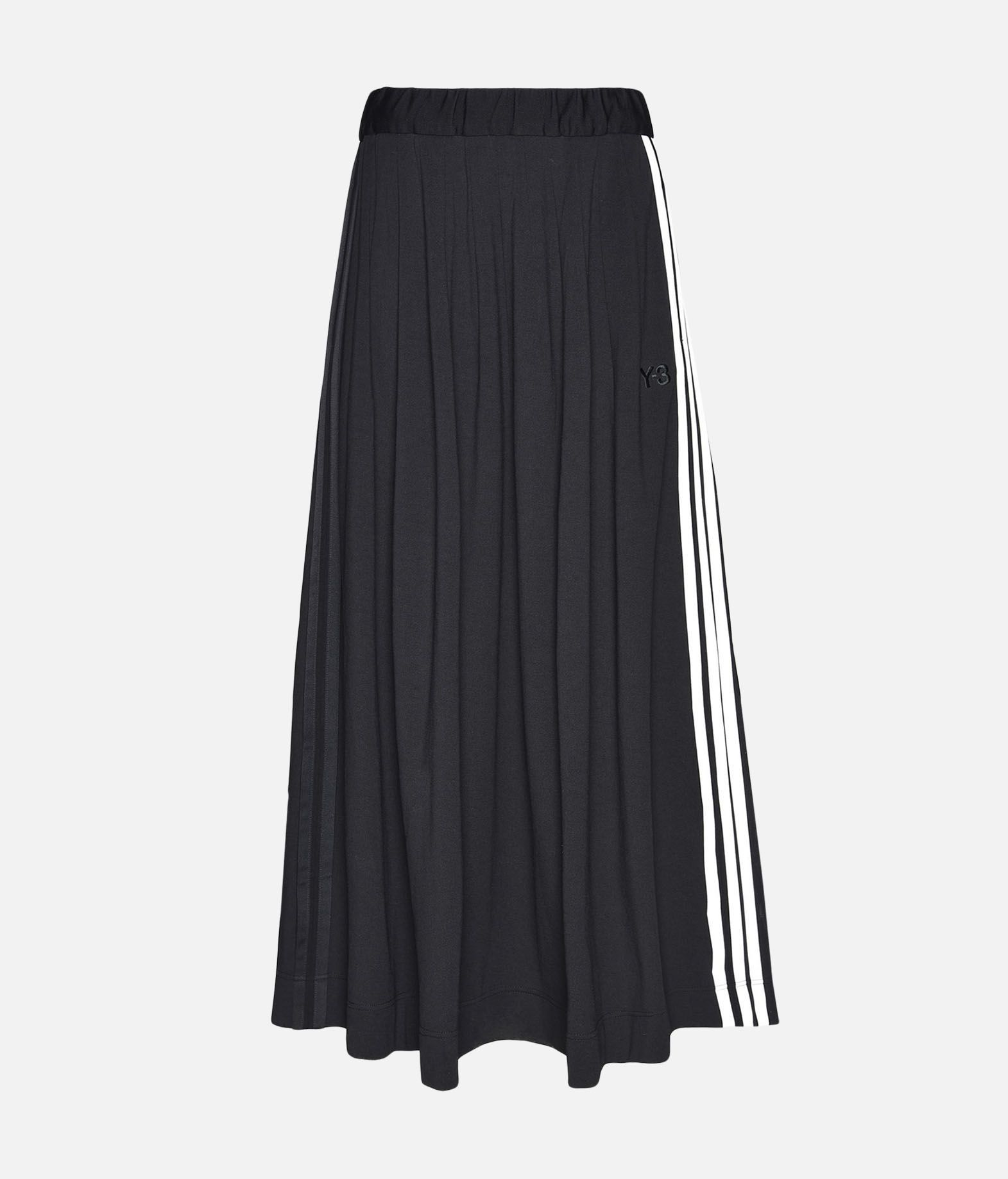 Y-3 Y-3 3-Stripes Selvedge Matte Track Skirt Knee length skirt Woman f