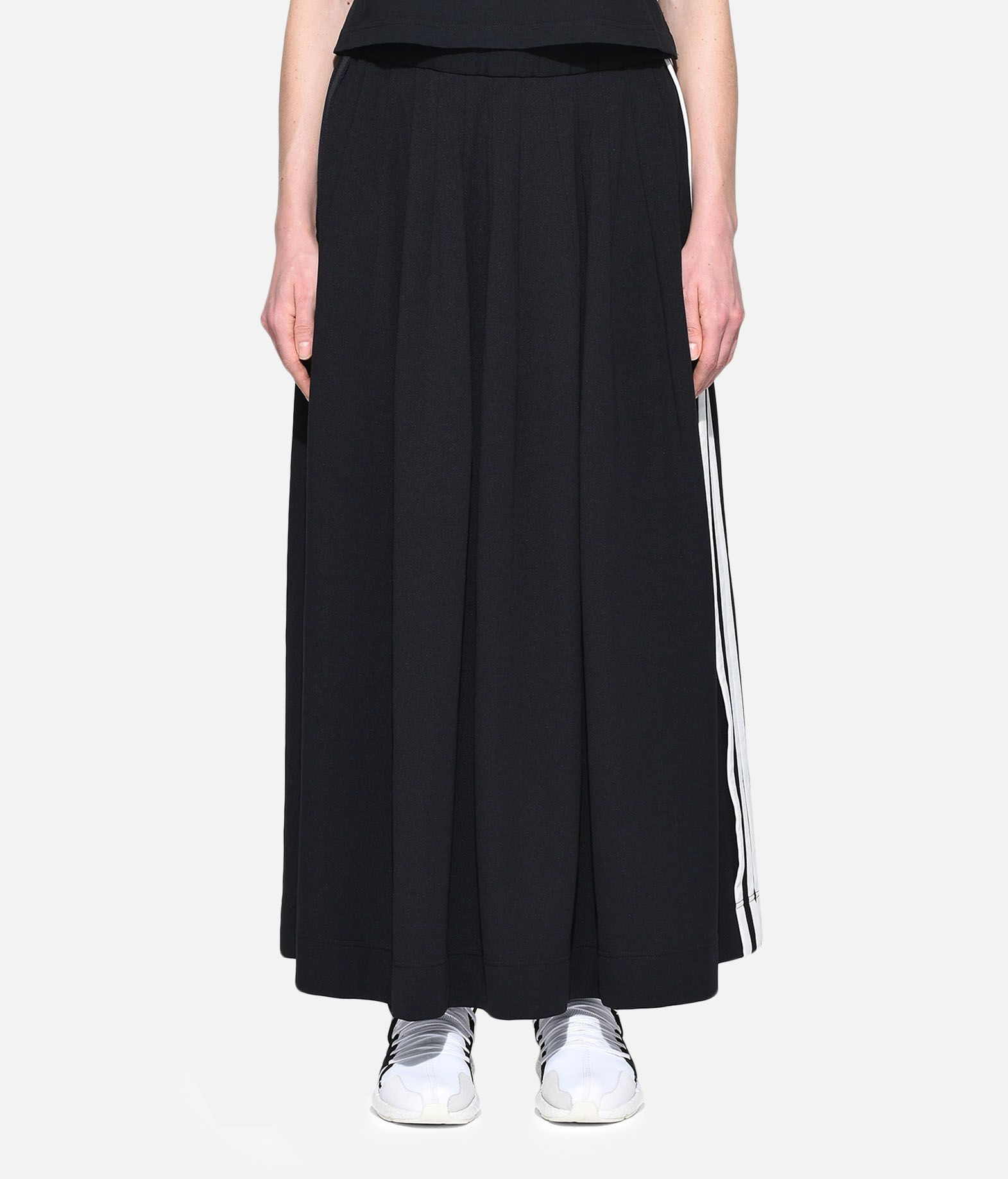 Y-3 Y-3 3-Stripes Selvedge Matte Track Skirt Knee length skirt Woman r