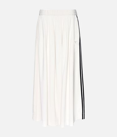 Y-3 3-Stripes Selvedge Matte Track Skirt