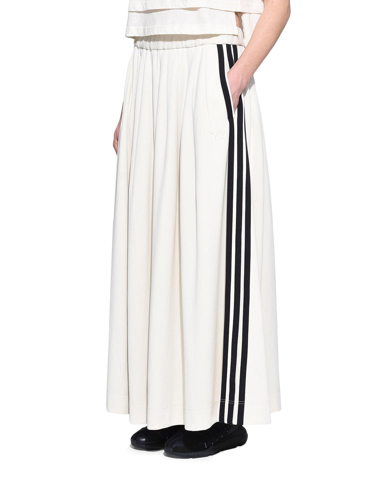 Y-3 Y-3 3-Stripes Selvedge Matte Track Skirt Gonna ginocchio Donna e