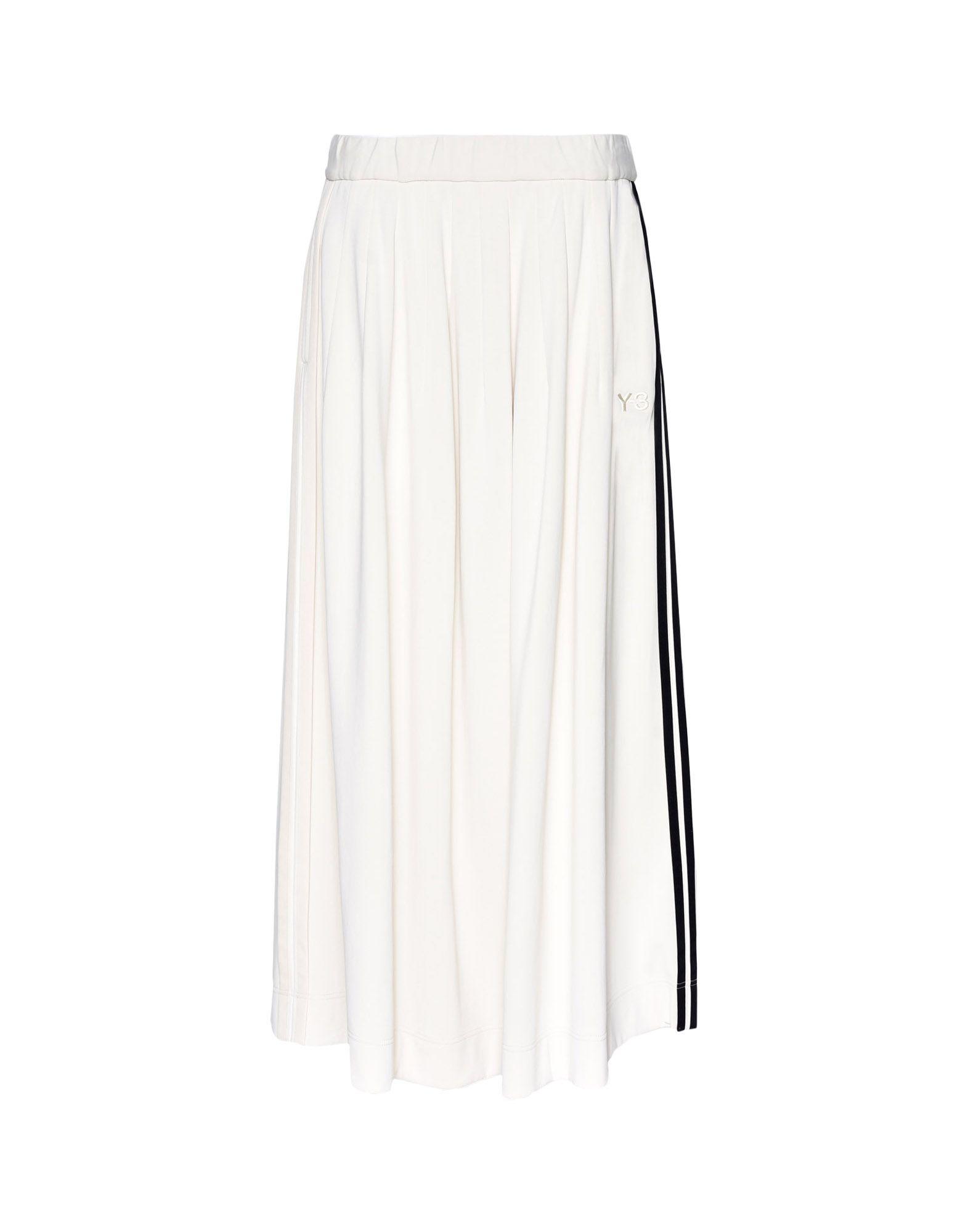 Y-3 Y-3 3-Stripes Selvedge Matte Track Skirt Gonna ginocchio Donna f