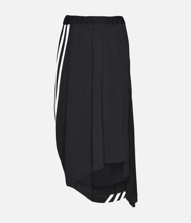 Y-3 3-Stripes Drape Skirt