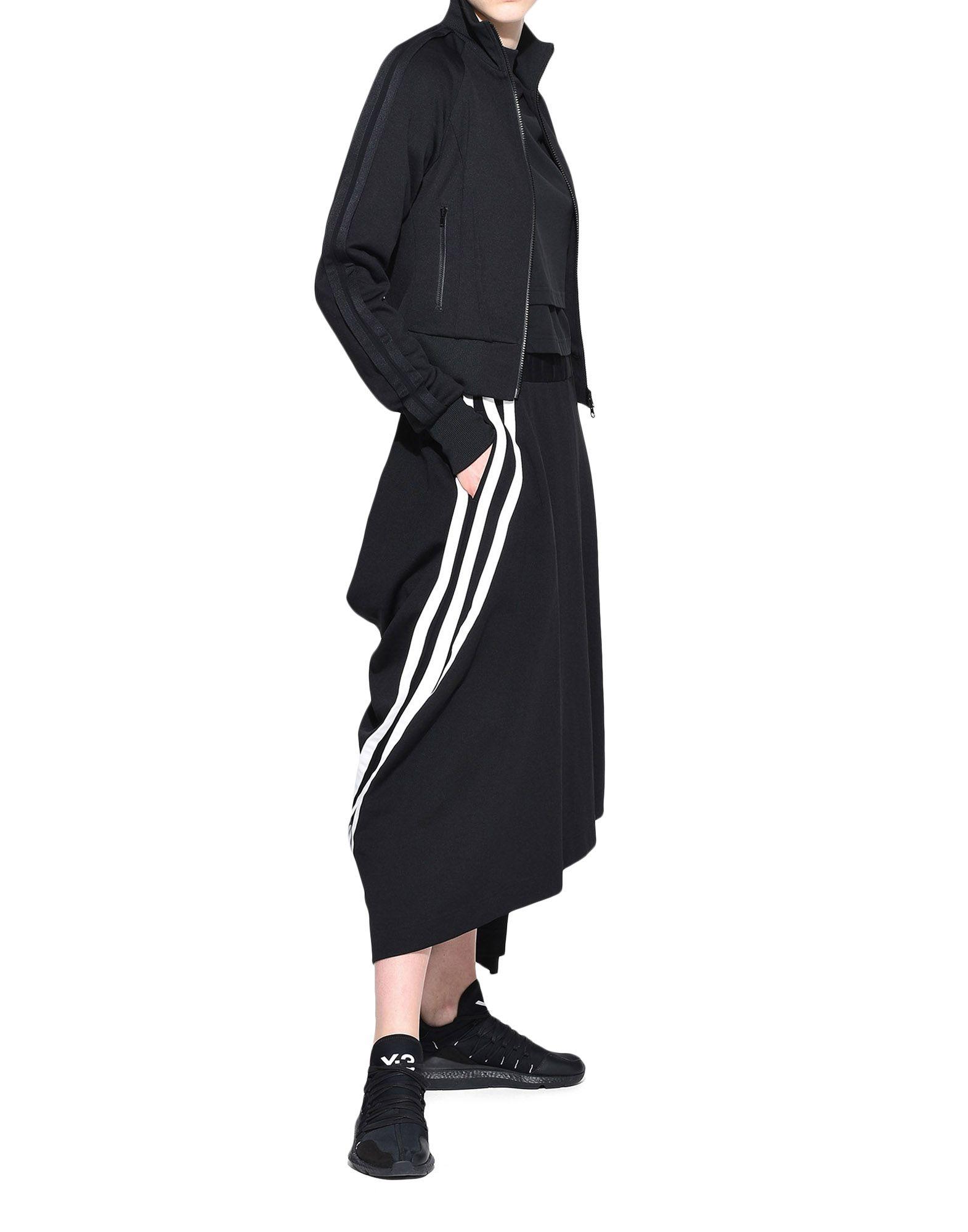 Y-3 Y-3 3-Stripes Drape Skirt Knee length skirt Woman a