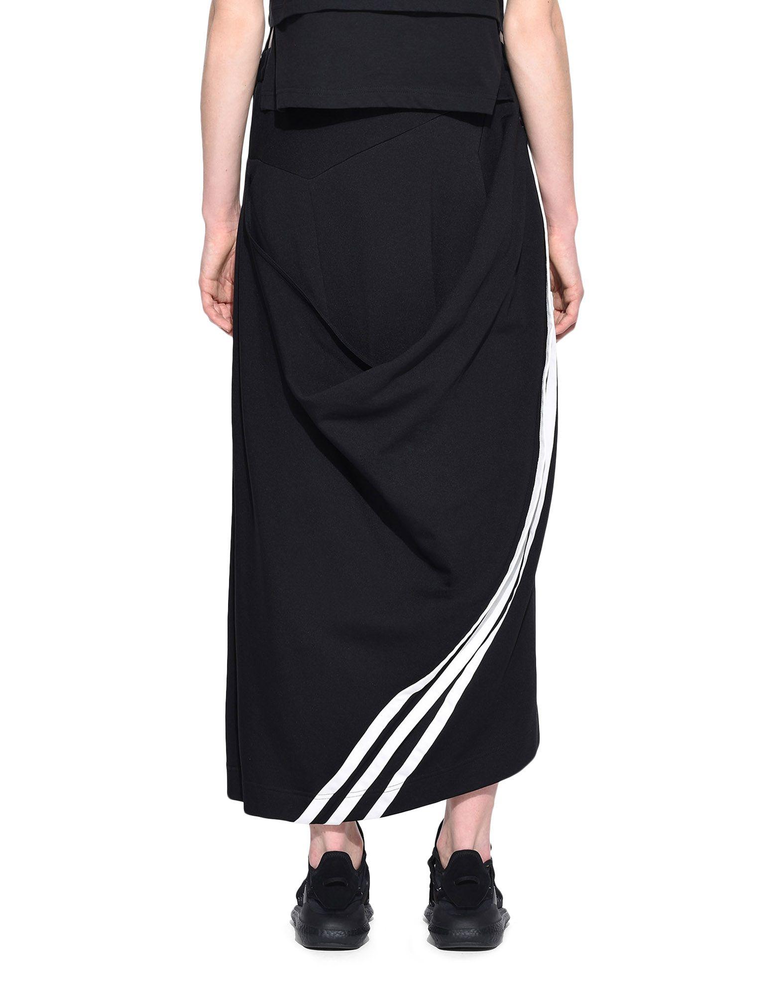 Y-3 Y-3 3-Stripes Drape Skirt Knee length skirt Woman d