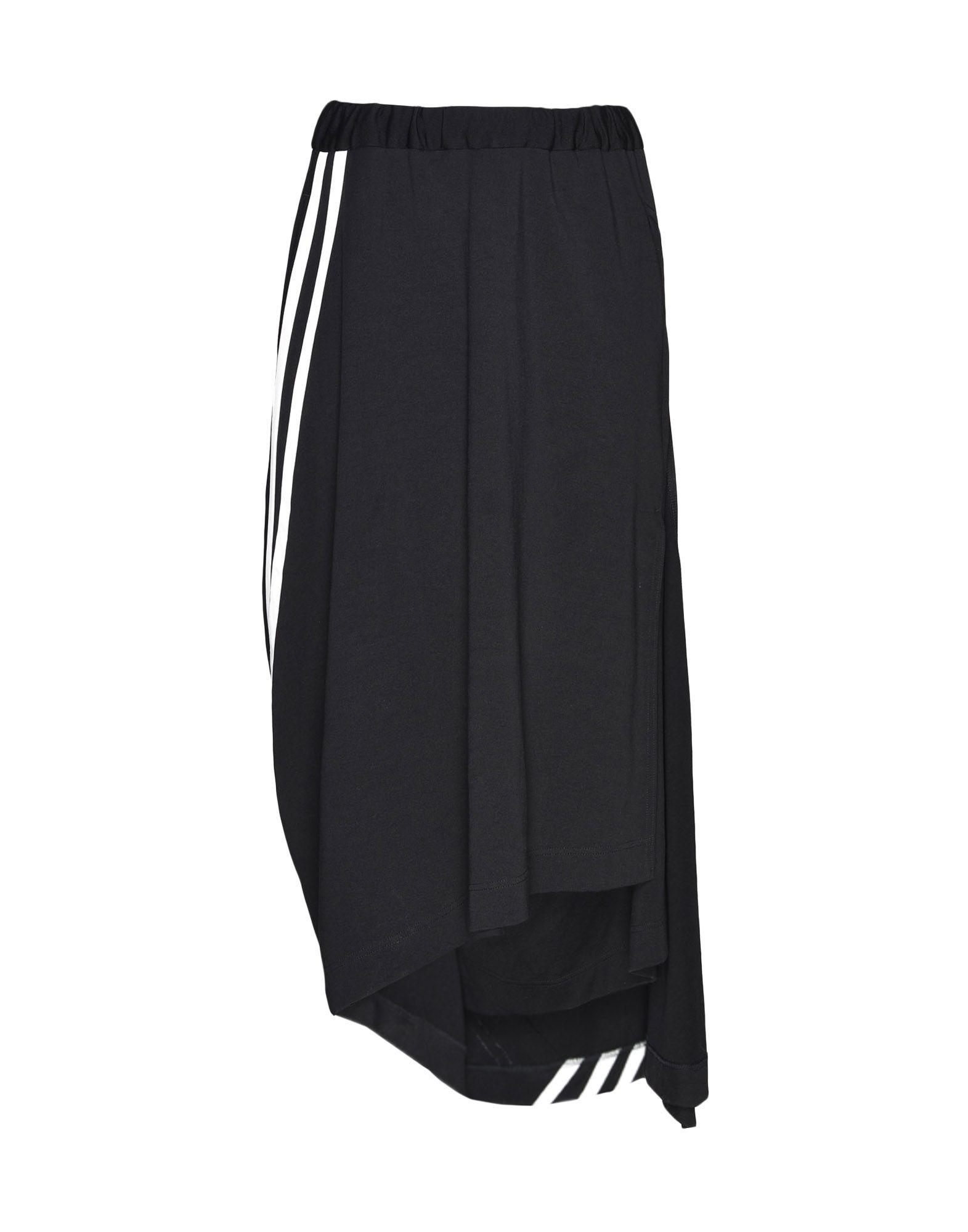 Y-3 Y-3 3-Stripes Drape Skirt Knee length skirt Woman f