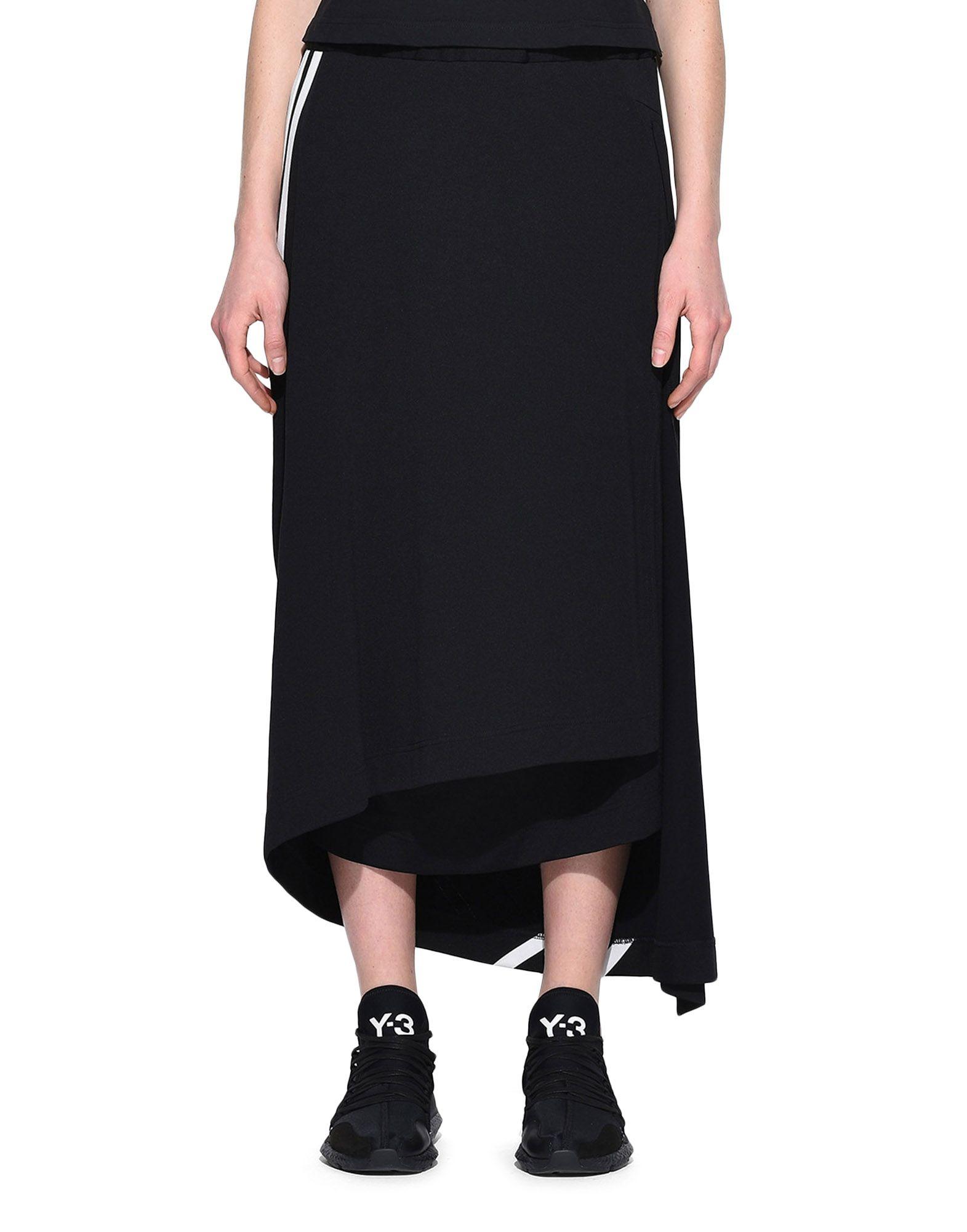 Y-3 Y-3 3-Stripes Drape Skirt Knee length skirt Woman r