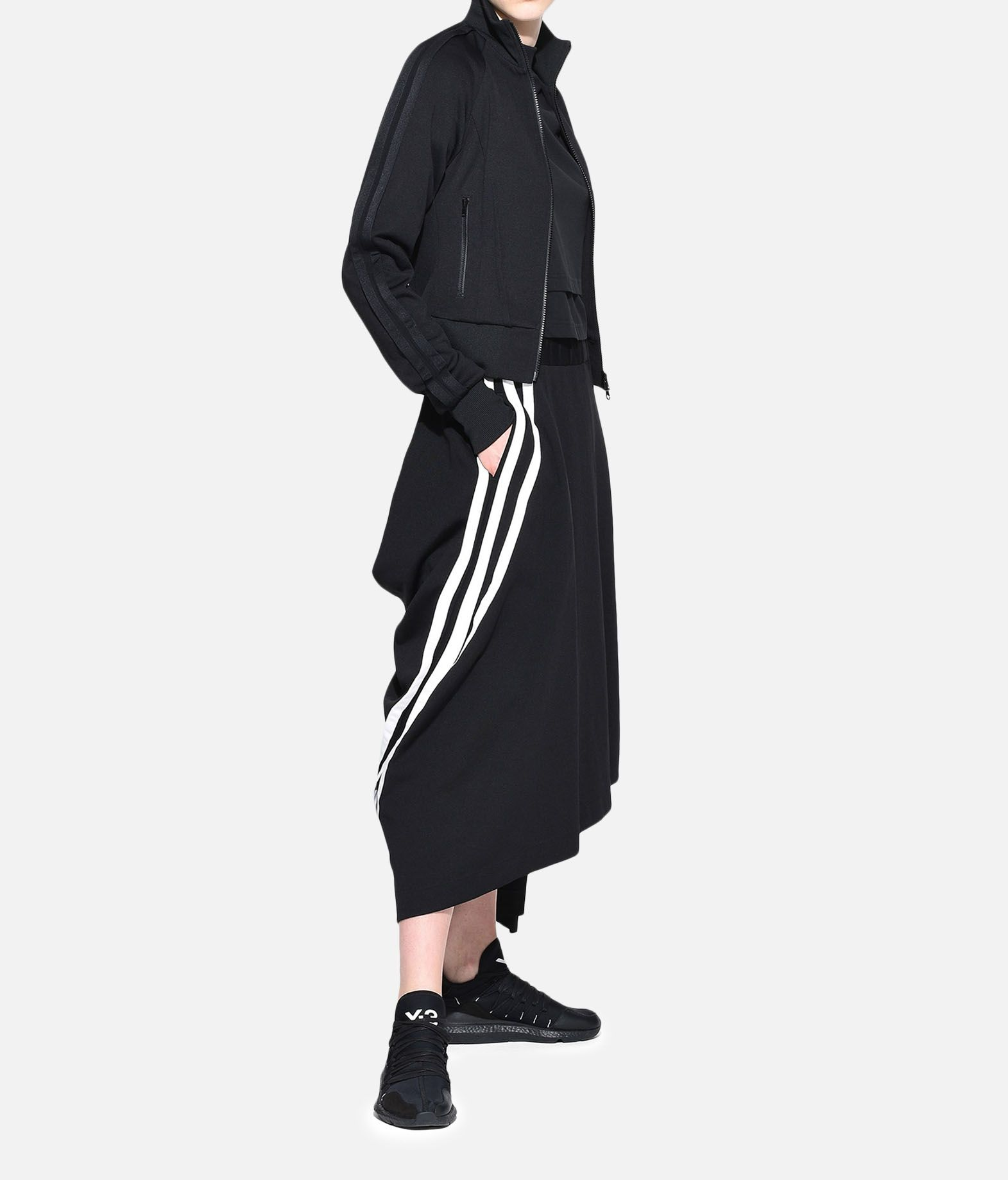Y-3 Y-3 3-Stripes Drape Skirt Knee length skirt Woman a