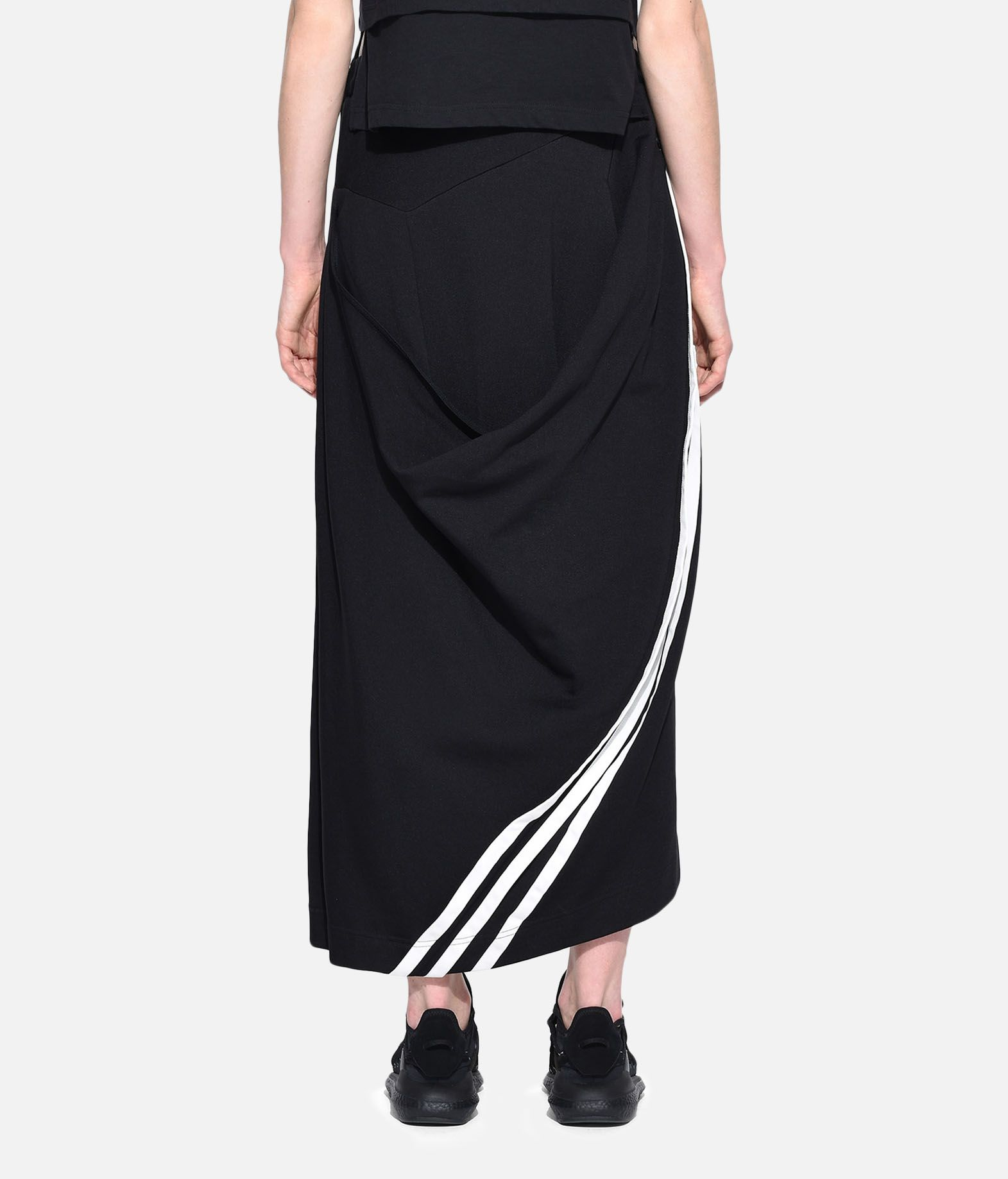 Y-3 Y-3 3-Stripes Drape Skirt Knee length skirt Woman d