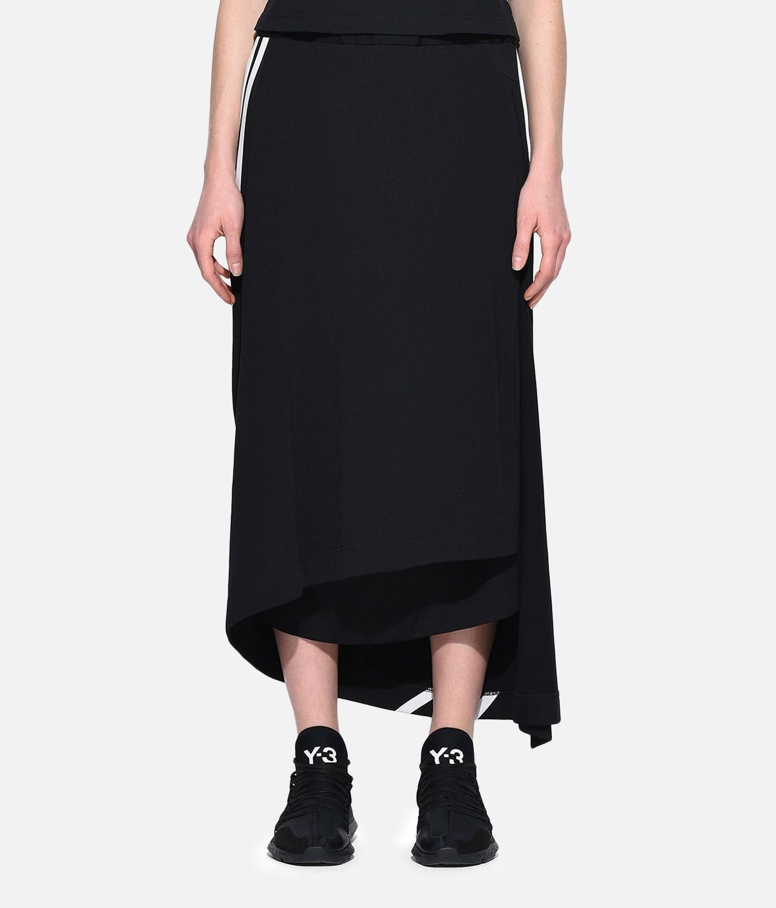 Y-3 Y-3 3-Stripes Drape Skirt Knee length skirt Woman r