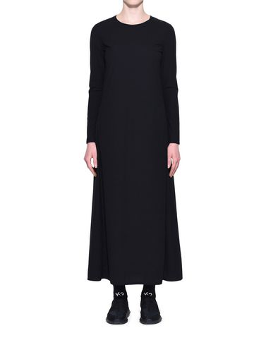 Y-3 Robe longue Femme Y-3 Stacked Logo Dress r