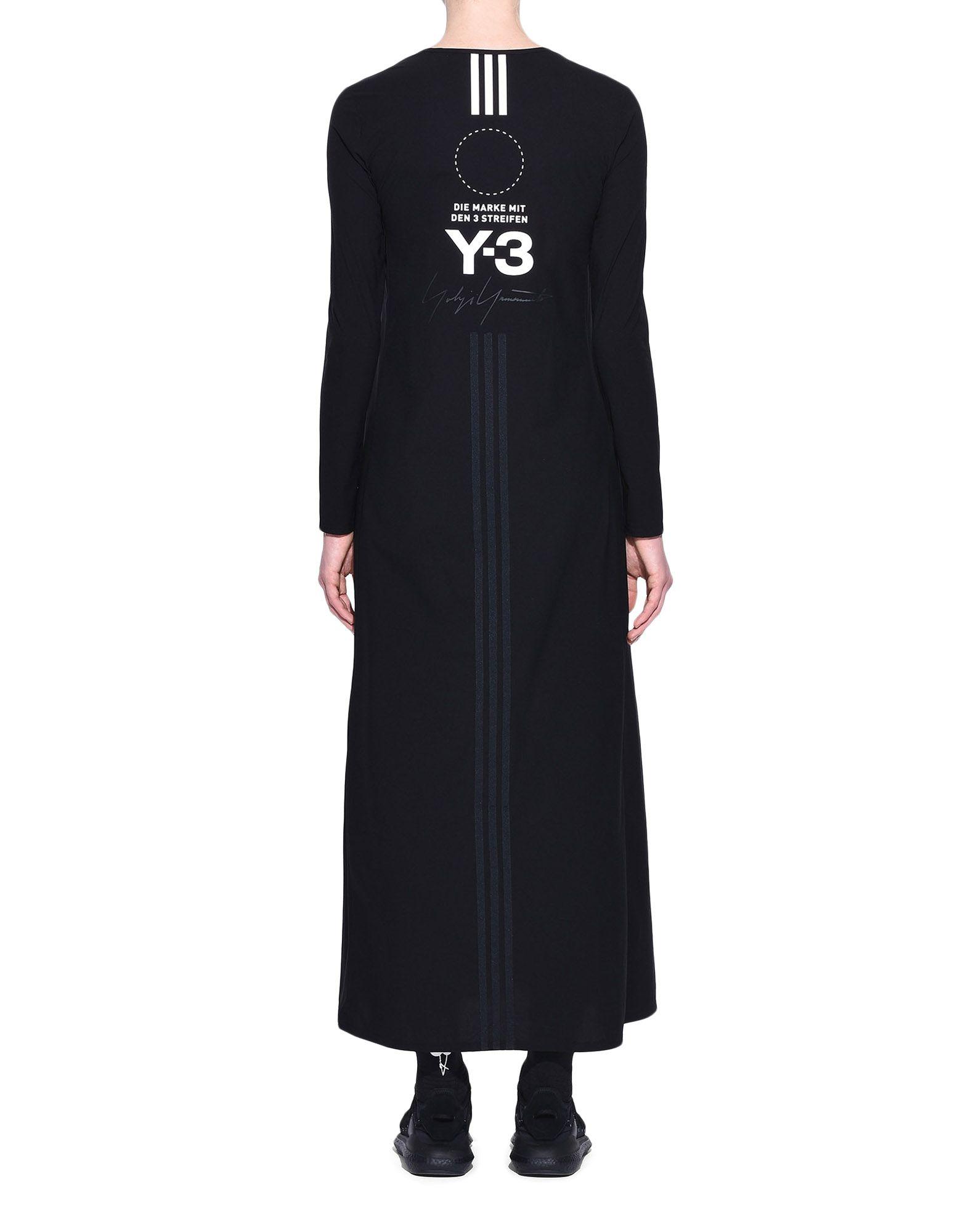 Y-3 Y-3 Stacked Logo Dress Vestito lungo Donna d