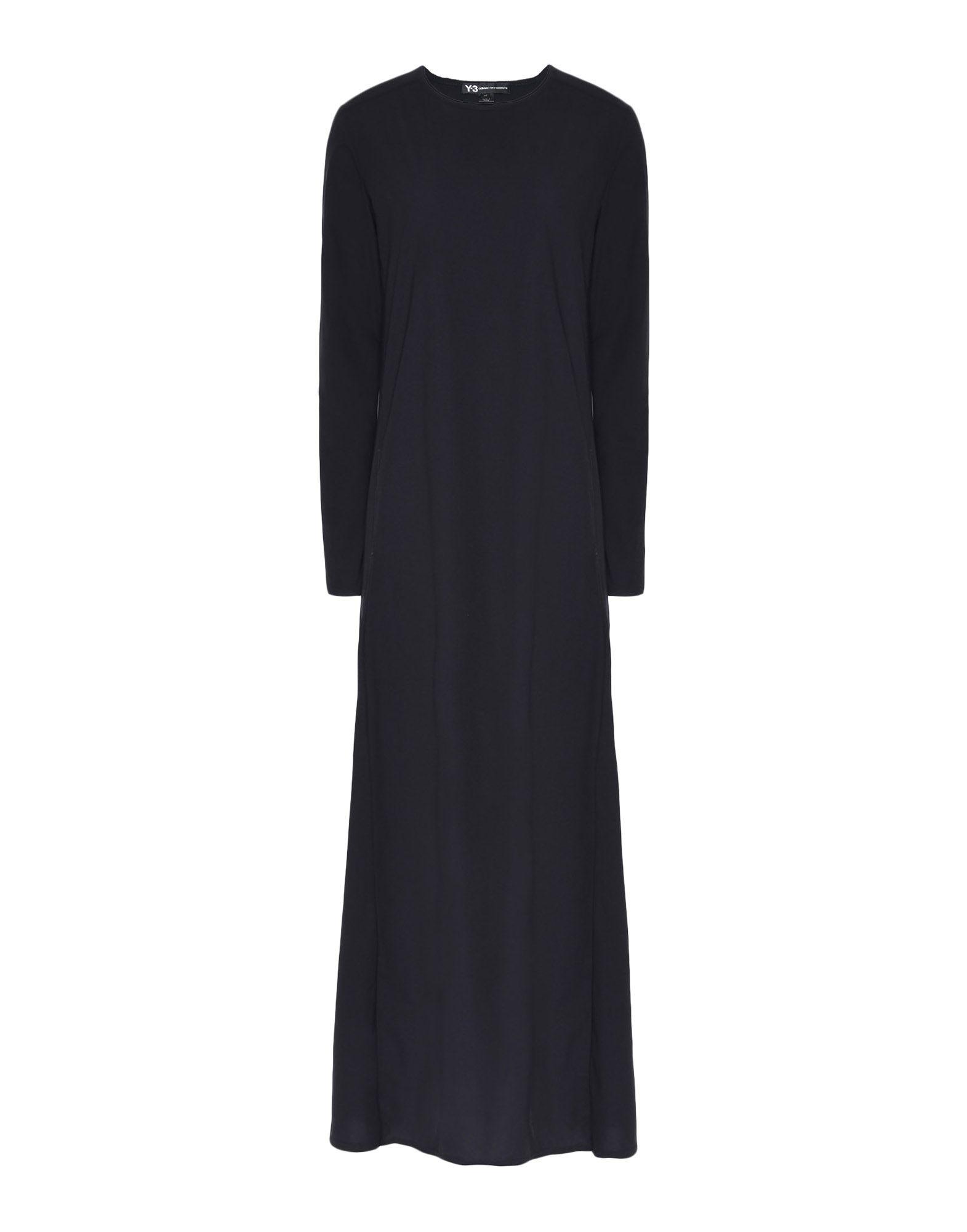 Y-3 Y-3 Stacked Logo Dress Vestito lungo Donna f