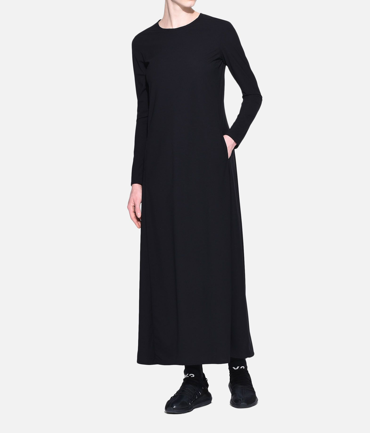 Y-3 Y-3 Stacked Logo Dress Long dress Woman a