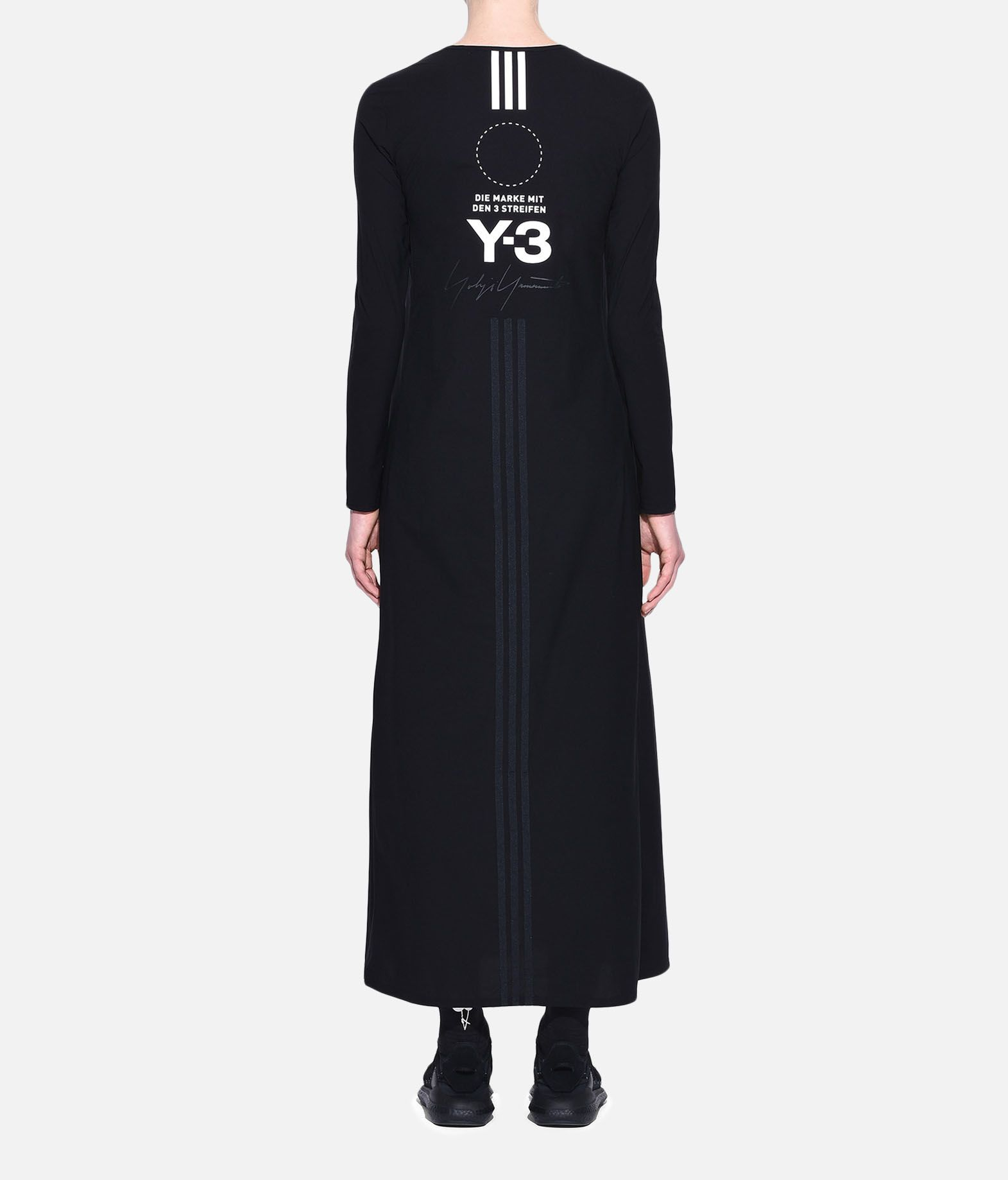 Y-3 Y-3 Stacked Logo Dress Long dress Woman d