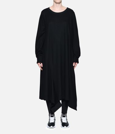 Y-3 Long dress Woman Y-3 Wool Dress r