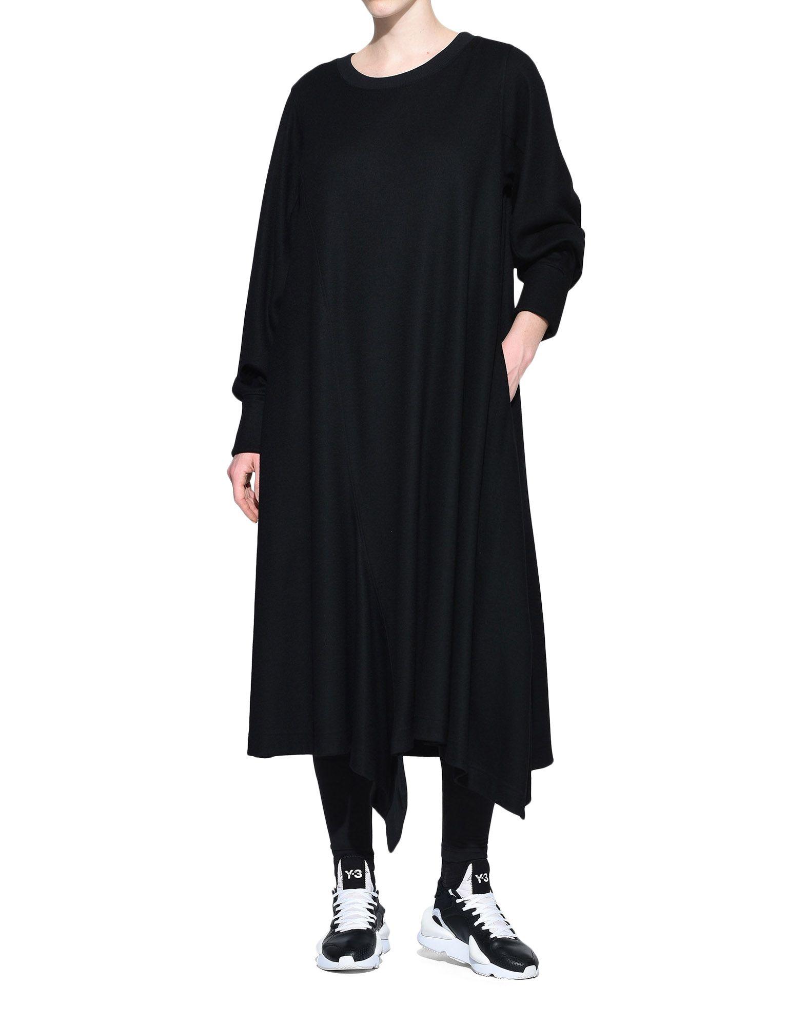 Y-3 Y-3 Wool Dress Robe longue Femme a