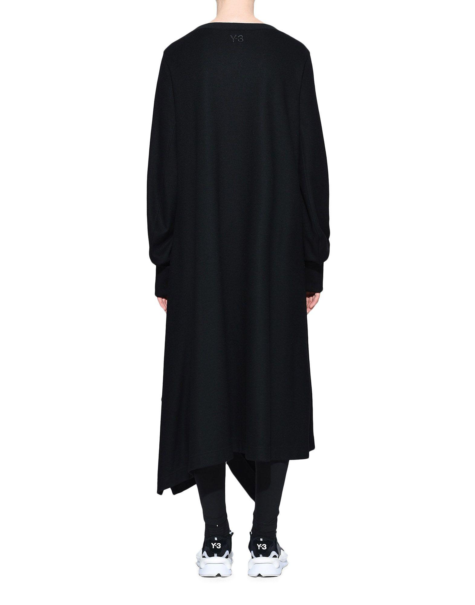 Y-3 Y-3 Wool Dress Robe longue Femme d
