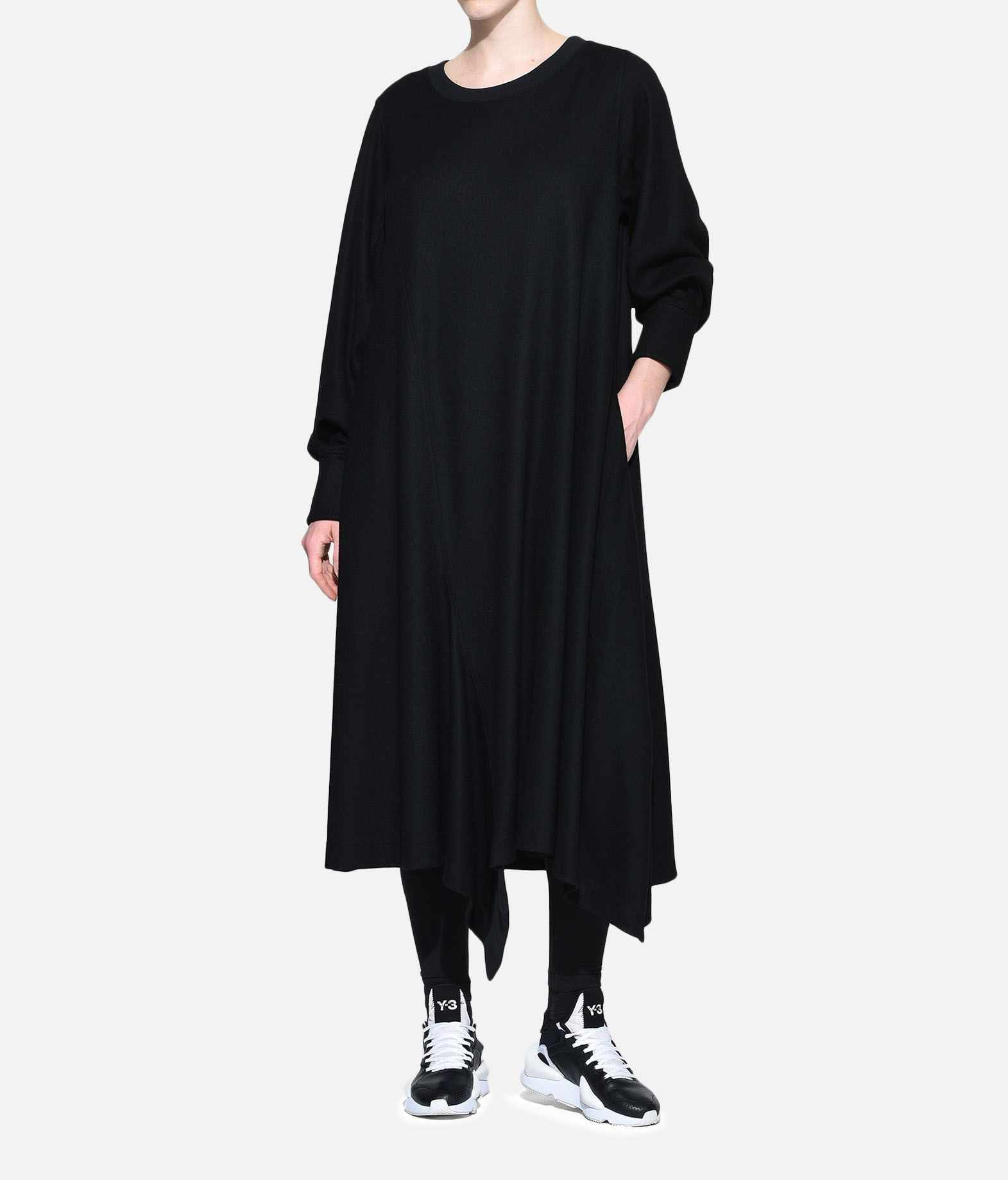 Y-3 Y-3 Wool Dress Long dress Woman a