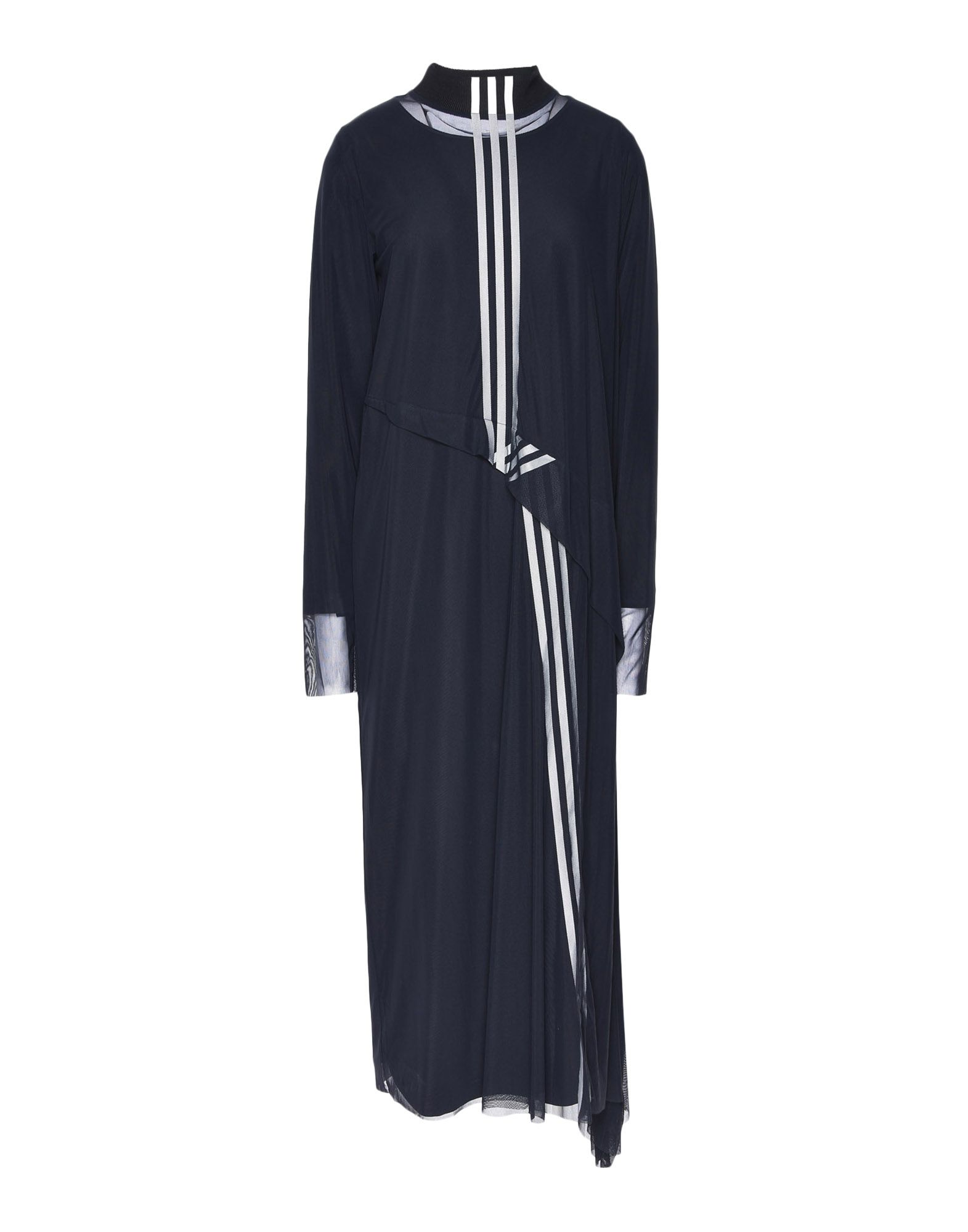 Y-3 Y-3 3-Stripes Mesh Dress Длинное платье Для Женщин f