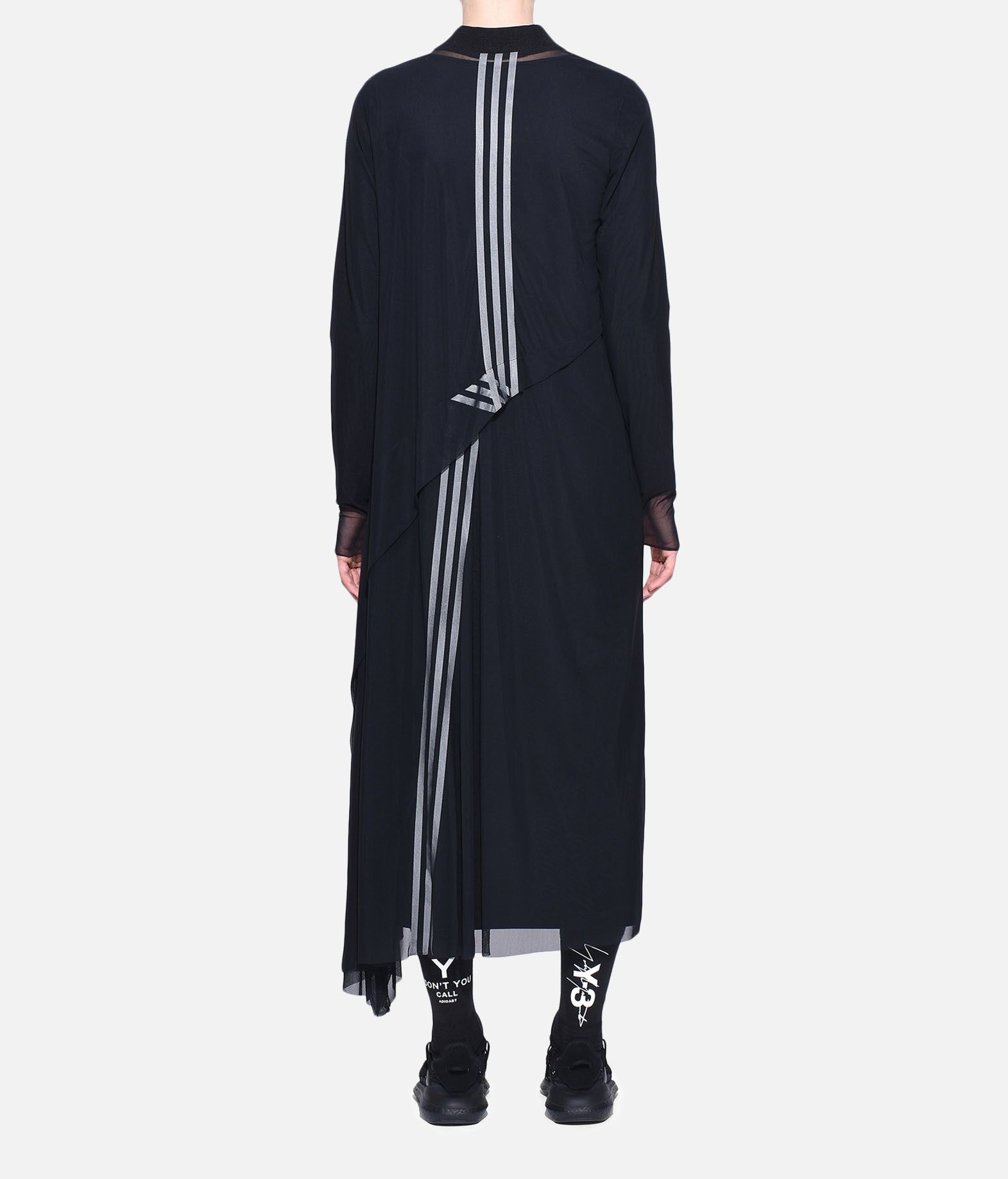 Y-3 Y-3 3-Stripes Mesh Dress Vestito lungo Donna d