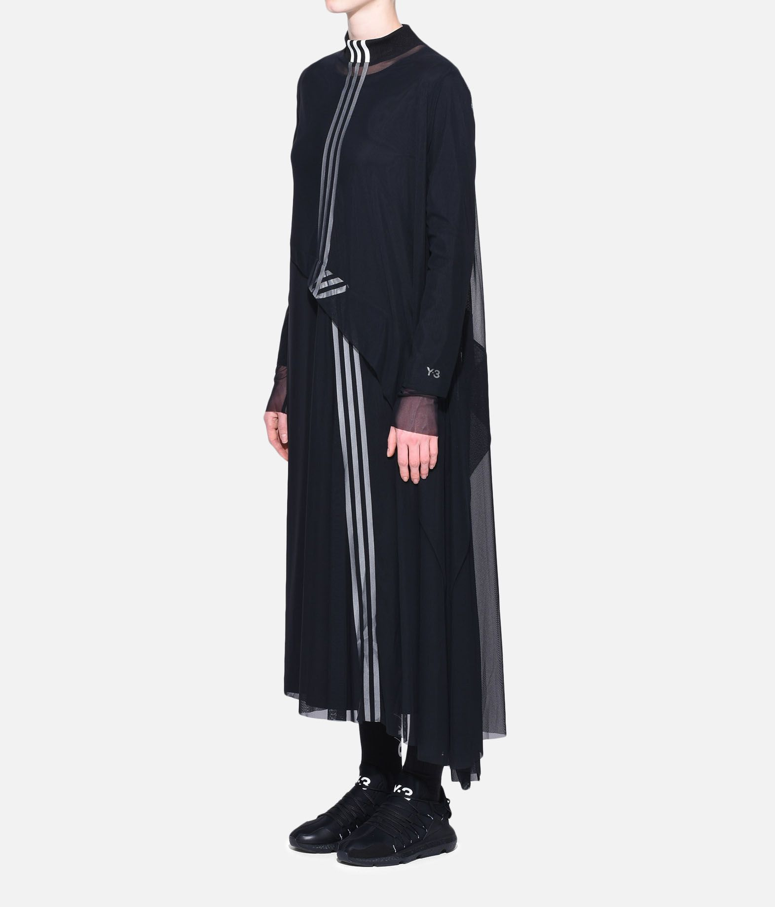 Y-3 Y-3 3-Stripes Mesh Dress Long dress Woman e