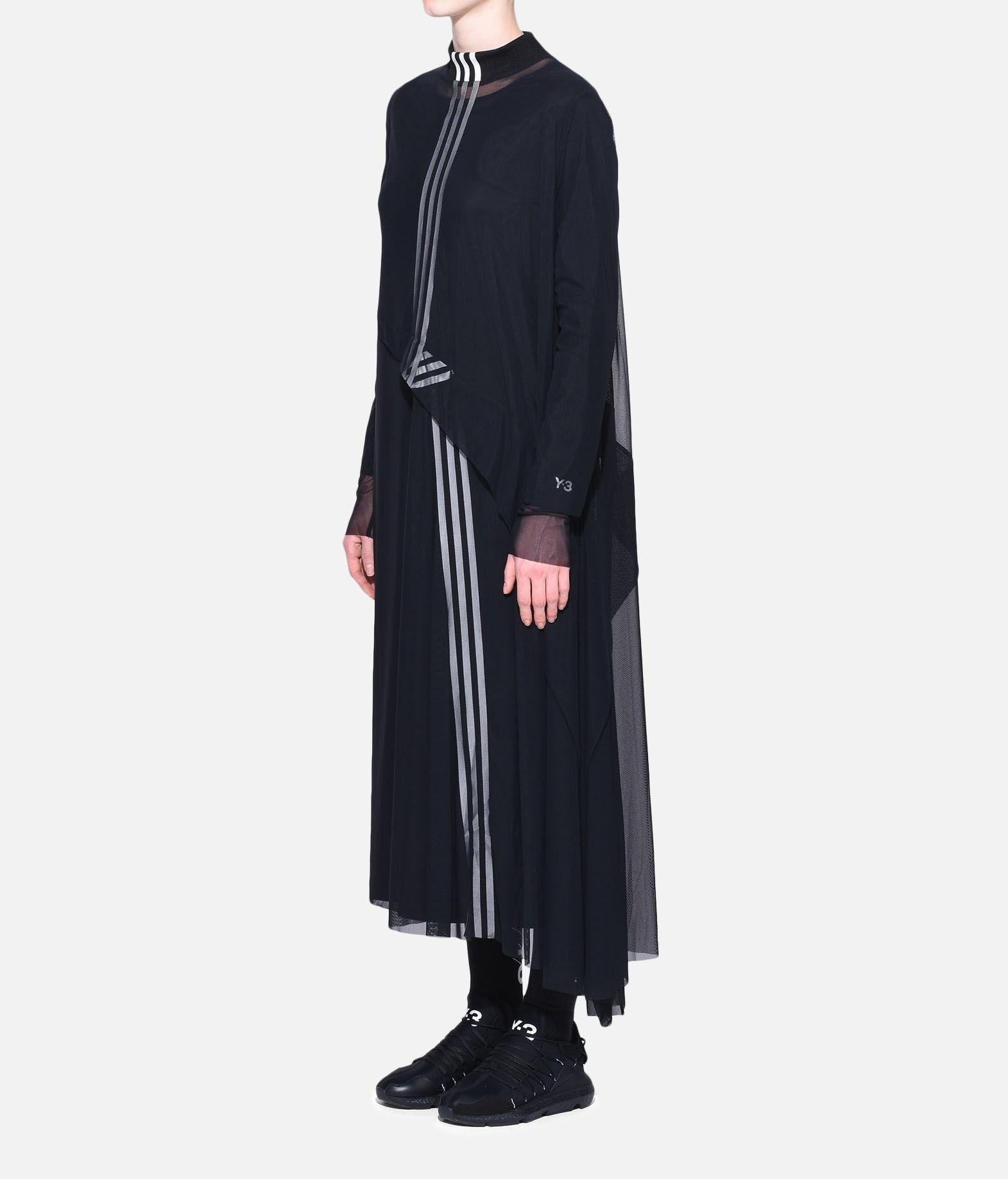 Y-3 Y-3 3-Stripes Mesh Dress Long dress Woman e