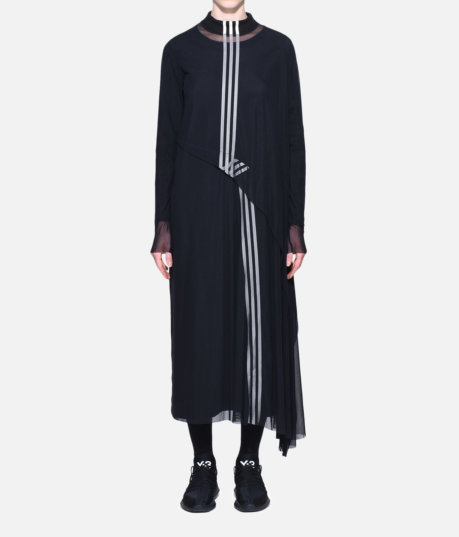 Y-3 Y-3 3-Stripes Mesh Dress Vestito lungo Donna r