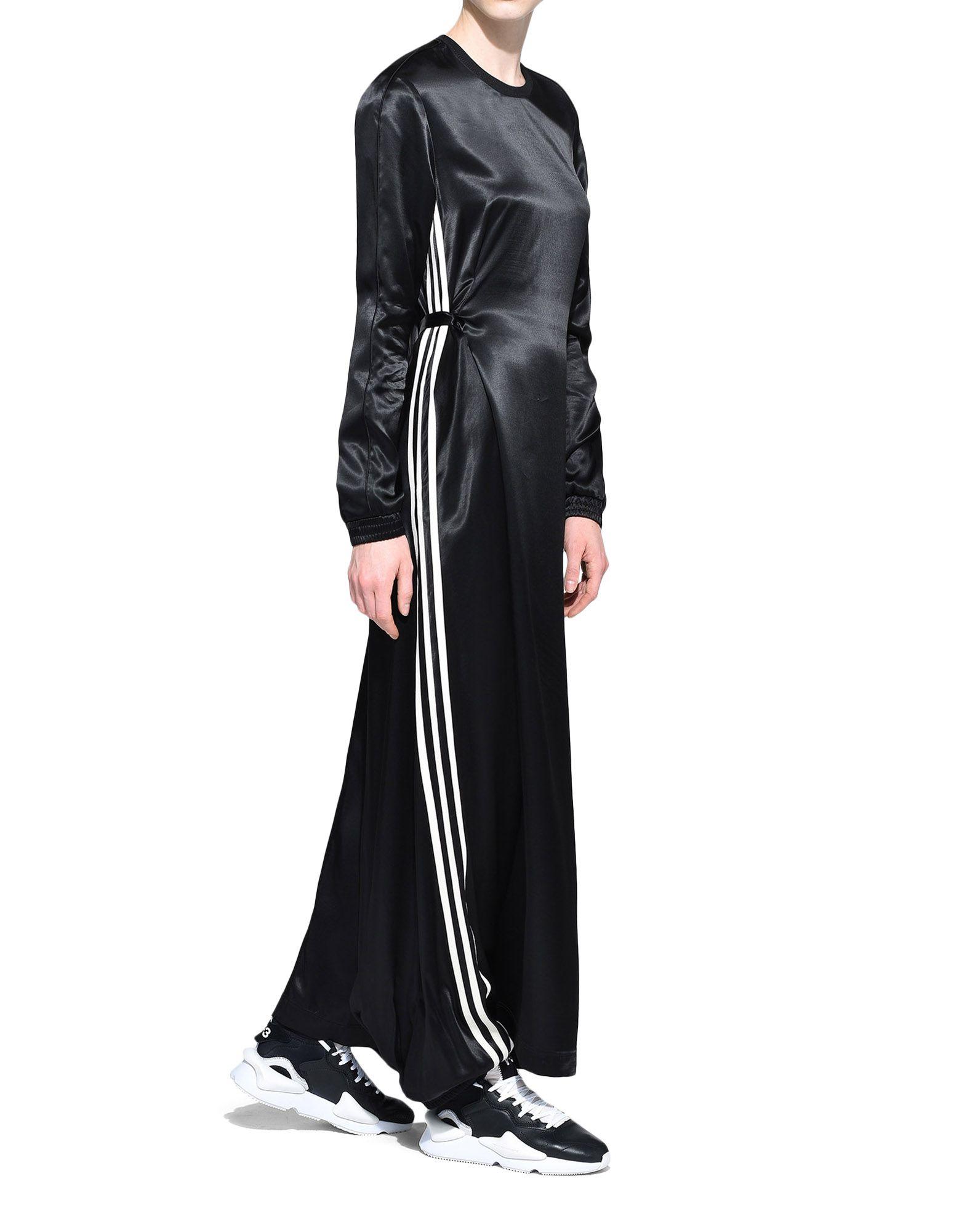 Y-3 Y-3 3-Stripes Lux Track Dress Длинное платье Для Женщин a