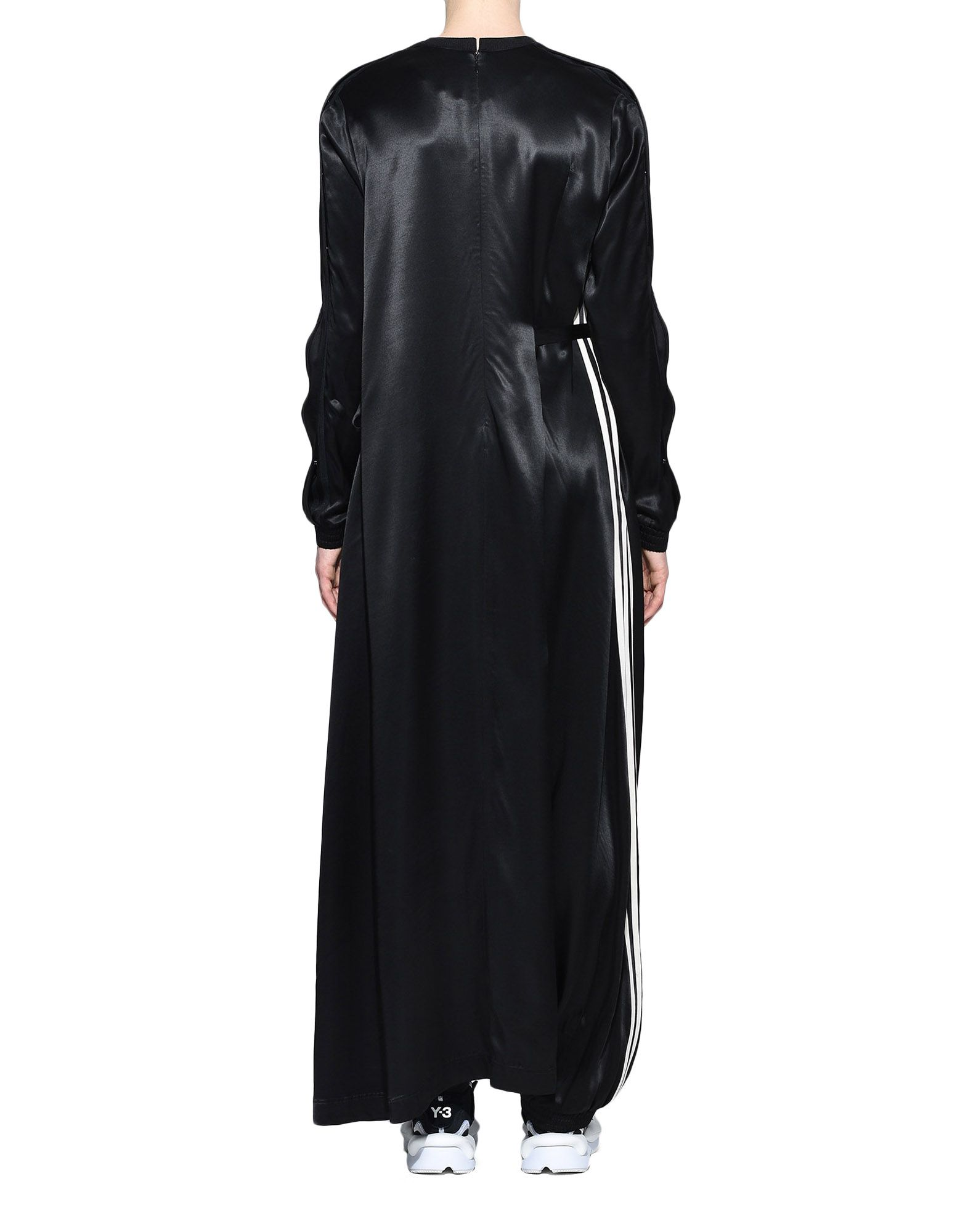 Y-3 Y-3 3-Stripes Lux Track Dress Длинное платье Для Женщин d