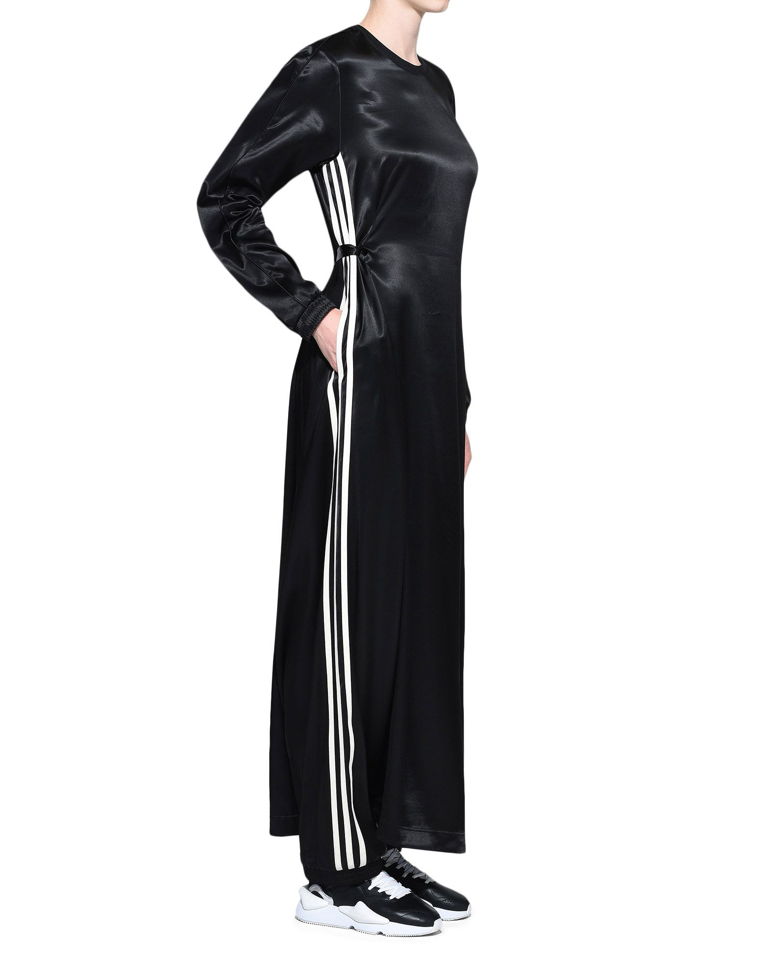 Y-3 Y-3 3-Stripes Lux Track Dress Длинное платье Для Женщин e
