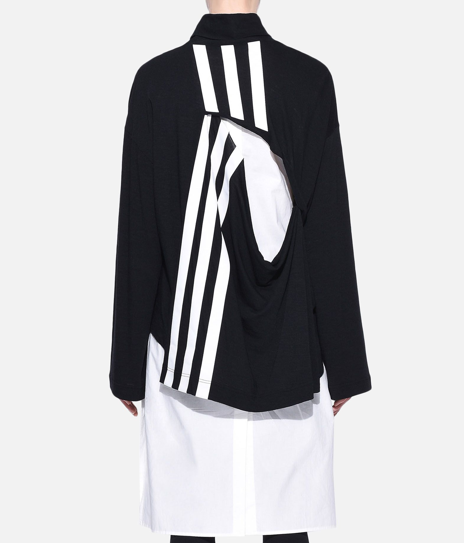 Y-3 Y-3 3-Stripes Layered Dress 3/4 length dress Woman d