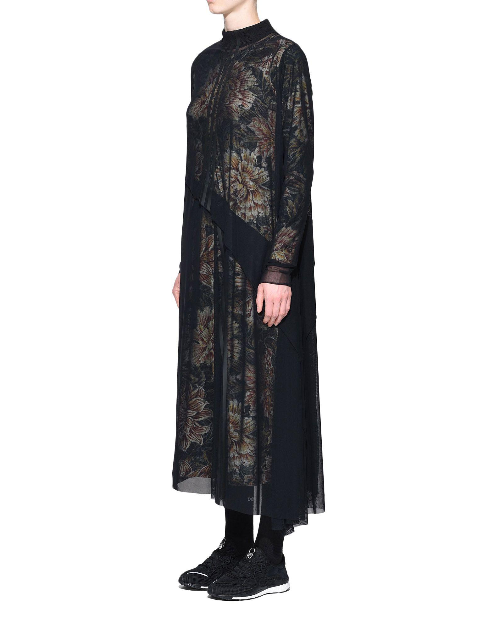 Y-3 Y-3 AOP 3-Stripes Mesh Dress Robe longue Femme d