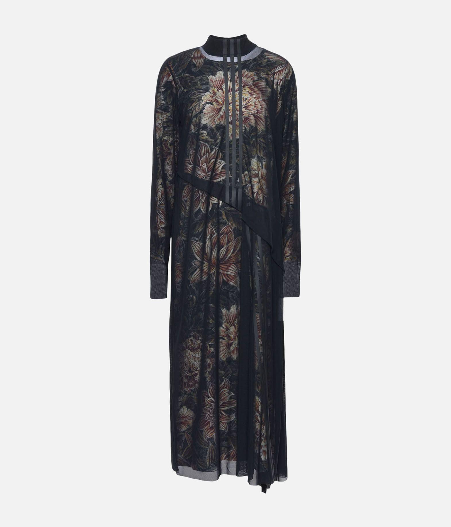 Y-3 Y-3 AOP 3-Stripes Mesh Dress Long dress Woman f